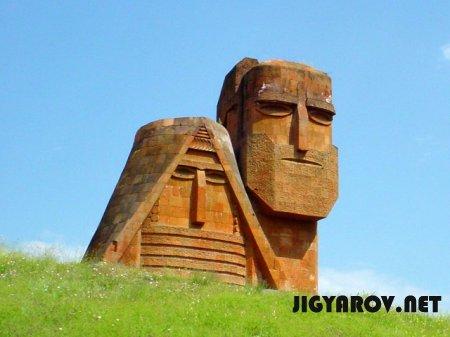 Границы Великой Армении и Кавказа. Этническая история Арцаха