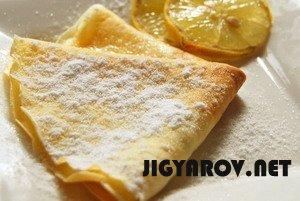 Блинчики лимонные