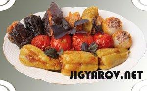 Летняя толма с овощами - эчмиадзинская