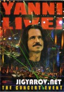 Yanni live - The concert event ( 2006 ) - DVD