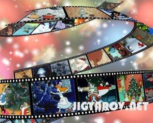 Новогодние и зимние мультфильмы - 55 шт.